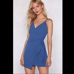 NWT Get This Show on the Road Wrap Dress